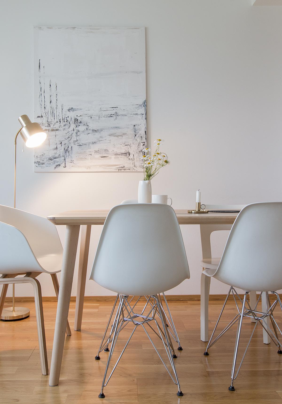 Ikea lisabo, pöytä, eames DSR